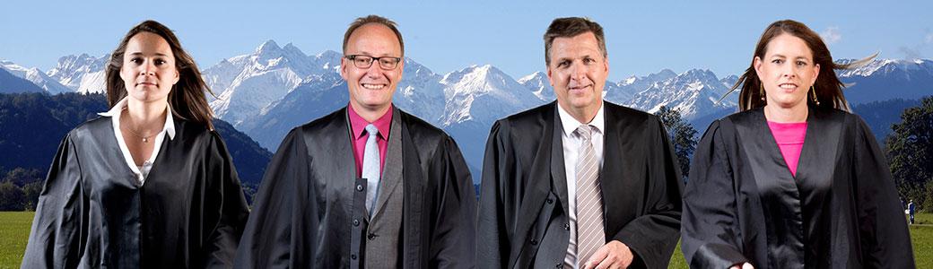 Rechtsanwälte Sonthofen: Kopitzke, Schaal, M. Söder, C. Söder