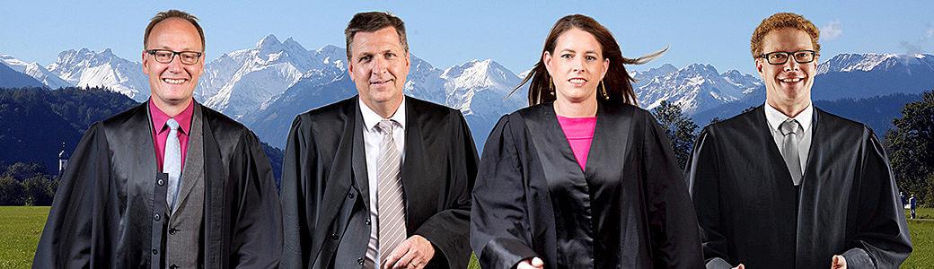 Rechtsanwälte Sonthofen: Schaal, M. Söder, D. Waldhauser